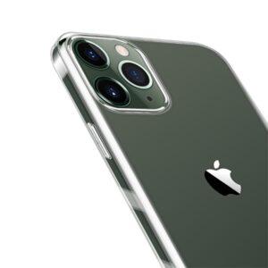 Transparente durchsichtige Gummi Hülle für das iPhone 12 und iPhone 12 Pro
