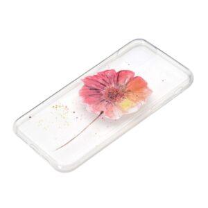 Super Dünne Transparente Schutzhülle für das iPhone 12 / iPhone 12 Pro mit dem Aufdruck Blume