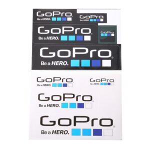 9 in 1 GoPro Logo Sticker Set günstig bei Ueli Express