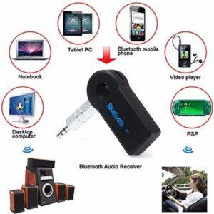 Bluetooth Musik Empfänger für den AUX Anschluss im Auto oder an der Stereo Anlage