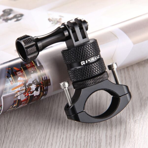 GoPro Aluminium Bike Halterung Schwarz