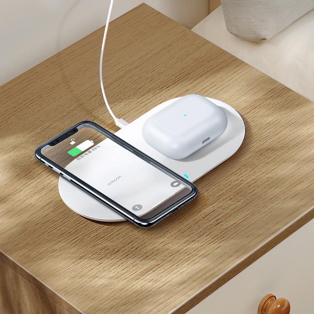 Joyroom 2 in 1 QI Wireless Ladegerät für iPhone und Airpods