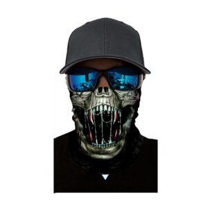 Ski und Snowboard Maske Skull
