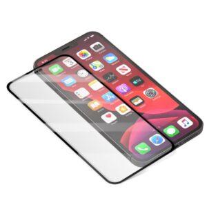 iPhone 12 Pro Max Vollbild Panzerglas geht bis an die Ecken vom Premium Hersteller Amorus
