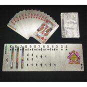 54 Hochwertige Poker Karten Silber