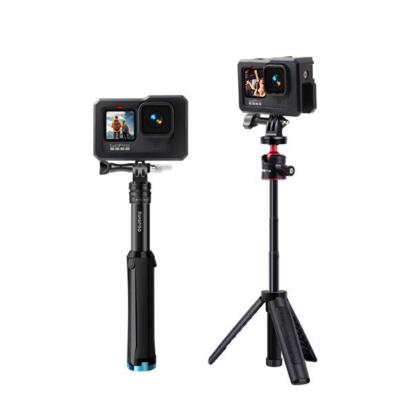 GoPro Hero 9 Aluminium Gehäuse mit Licht Halterung