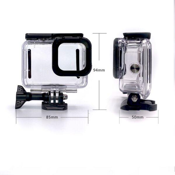 GoPro Hero 9 Black Wasserdichtes Gehäuse 45m inkl. Tauchfilter Set