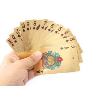 54 Hochwertige Poker Karten Gold