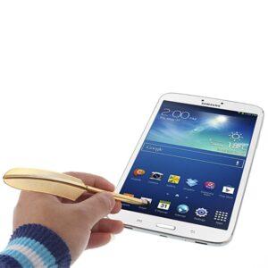 Touch Screen Stift Goldene Feder