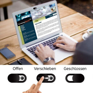 Webcam Privatsphäre Sichtschutz Cover