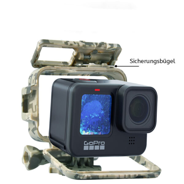 Camouflage Halterung Extreme GoPro Hero 9
