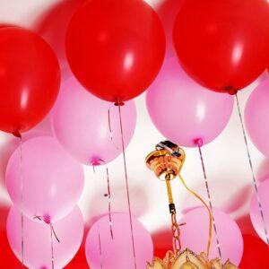 100 Doppelseitige Ballon Klebepunkte