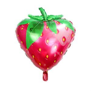 Folien Ballon Erdbeere 60cm