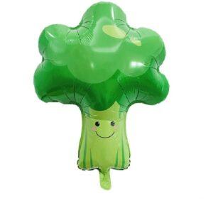 Folien Ballon Früchte und Gemüse Brokkoli