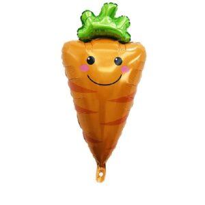 Folien Ballon Früchte und Gemüse Karotte