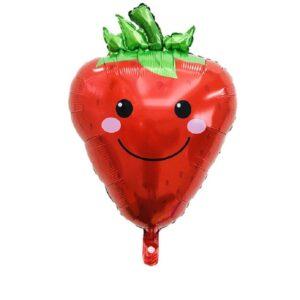Folien Ballon Gemüse Erdbeere