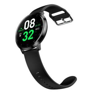 Lemonda schlanke Fitness Armband Uhr mit Schrittzähler und Puls Messung