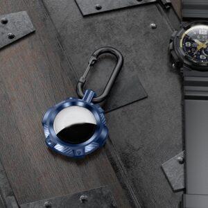 Extreme Outdoor Schlüsselanhänger Halterung für Apple AirTag Blau