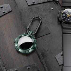 Extreme Outdoor Schlüsselanhänger Halterung für Apple AirTag Grün