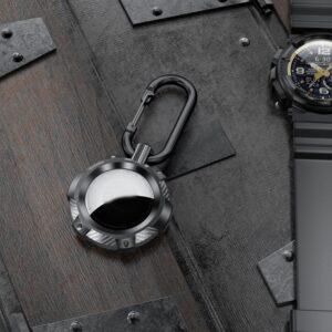 Extreme Outdoor Schlüsselanhänger Halterung für Apple AirTag Schwarz