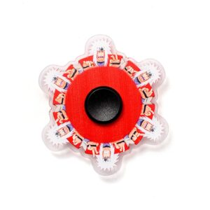 Fidget Spinner Roter Krieger