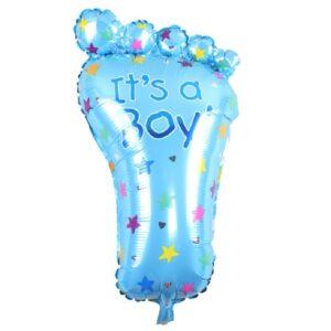 Folien Ballon Its a Boy Fuss Geburt 70cm