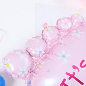 Folien Ballon Its a Girl Fuss Geburt 70cm