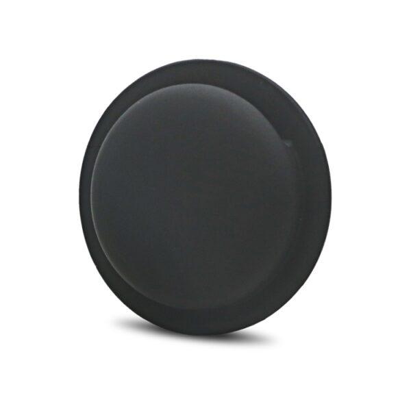 Selbstklebende Apple AirTag Silikon Halterung Schwarz