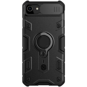 iPhone SE 8 7 Defender Outdoor Schutzhülle mit Kameraschutz Schwarz