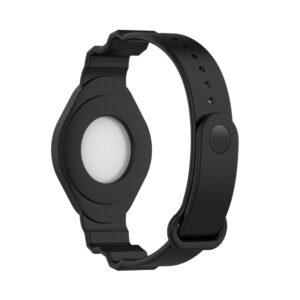 Universal AirTag Armband Halterung für Kinder Schwarz