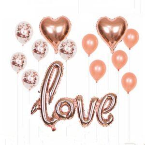 13 in 1 Love Party Ballon Set
