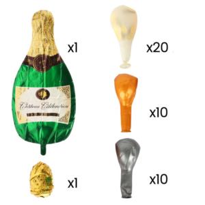 42 in 1 Champagner Party Ballon Mega Set