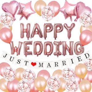 49 in 1 Happy Wedding Ballon Mega Set