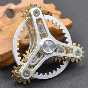 Fidget Spinner High-Tech Triangel Zahnräder