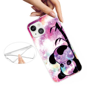 iPhone 13 Mini Super Slim Gummi Schutzhülle Panda