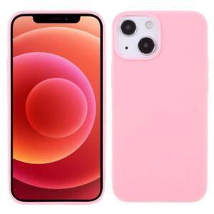 iPhone 13 Mini Super Slim Gummi Schutzhülle Pink