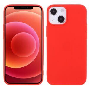 iPhone 13 Mini Super Slim Gummi Schutzhülle Rot