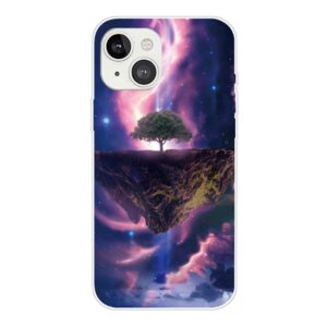 iPhone 13 Mini Super Slim Gummi Schutzhülle mystischer Baum