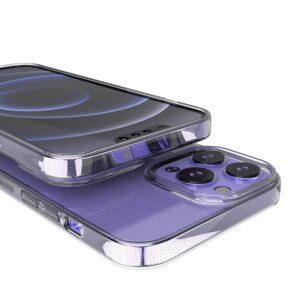 iPhone 13 Pro Max Slim Gummi Hülle Transparent