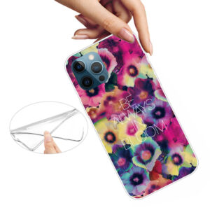 iPhone 13 Pro Max Super Slim Gummi Schutzhülle Bloom