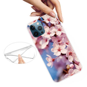 iPhone 13 Pro Max Super Slim Gummi Schutzhülle Blüten