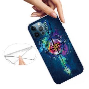 iPhone 13 Pro Max Super Slim Gummi Schutzhülle Kompass