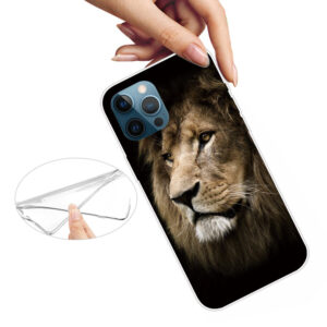 iPhone 13 Pro Max Super Slim Gummi Schutzhülle Löwe