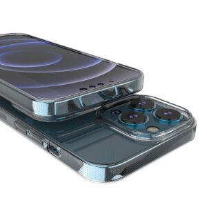 iPhone 13 Pro Slim Gummi Hülle Transparent