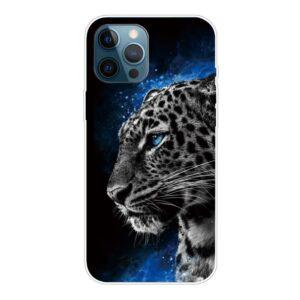 iPhone 13 Pro Super Slim Gummi Schutzhülle Leopard