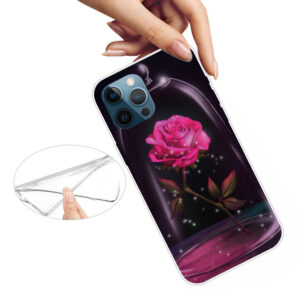 iPhone 13 Pro Super Slim Gummi Schutzhülle Rose