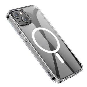 Hoco iPhone 13 Gummi Schutzhülle MagSafe Transparent
