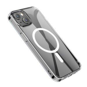 Hoco iPhone 13 Mini Gummi Schutzhülle MagSafe Transparent