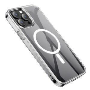 Hoco iPhone 13 Pro Max Gummi Schutzhülle MagSafe Transparent