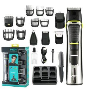 VGR 14 in 1 Professionelles Grooming Rasierer Kit